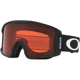 Oakley Line Miner XM Lunettes de ski Femme, matte black/w prizm snow rose